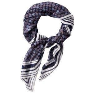 Jason Wu Designer for Target Scarf Navy Blue Cycle
